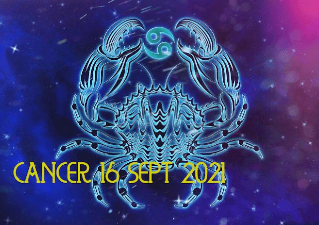 ZODIAK Hari ini CANCER 16 September 2021