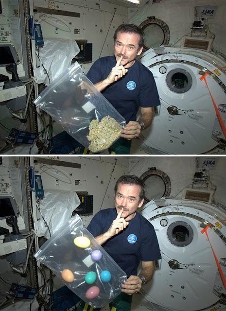 Astronot Merokok Marijuana Di Luar Angkasa