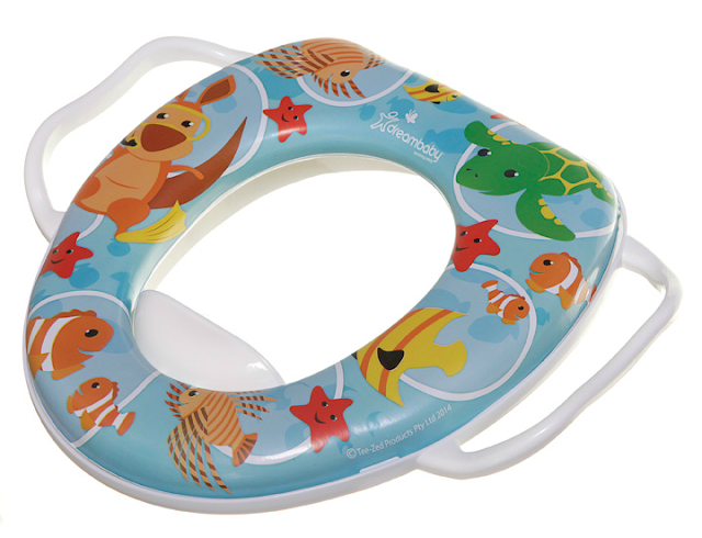 dreambaby soft potty seat toilet insert