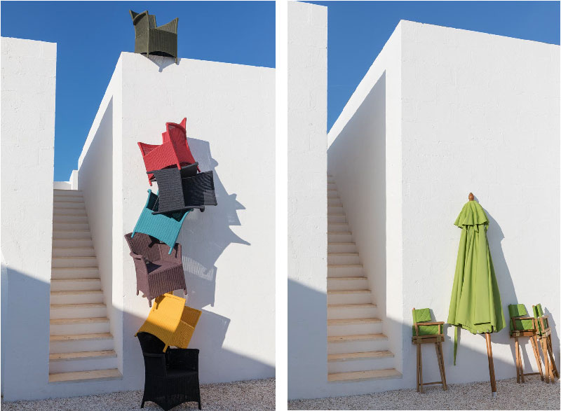 poltroncine Capri - collezione Lipari di Unopiù