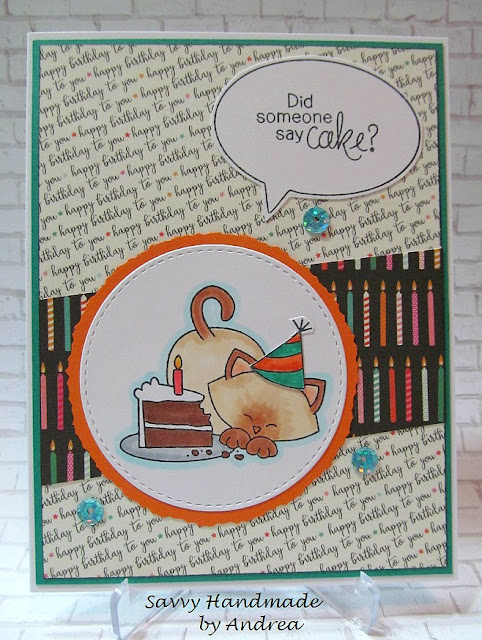 Did someone say cake! by Andrea features Newton Loves Cake by Newton's Nook Designs; #newtonsnook