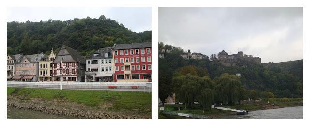 St Goar e Schloss Rheinfels - rio Reno
