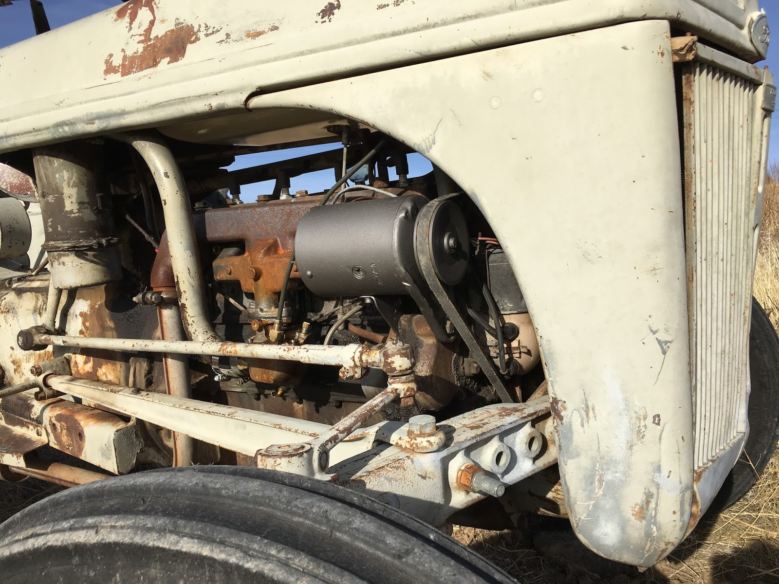 Ford 9n Hydraulic Oil : Syonyk s project ford n repair work fuel air