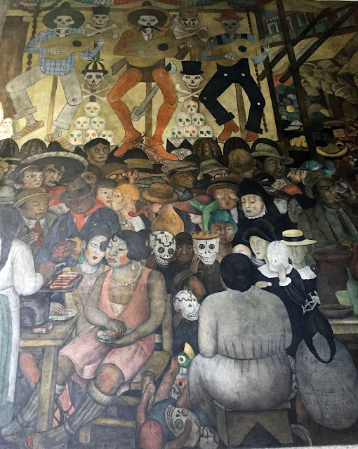 Janeville for Diego rivera day of the dead mural