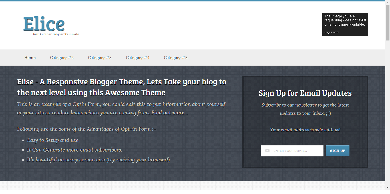Elice-event-blogger-template