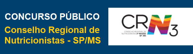 Apostila CRN3 Região (SP) Conselho Regional de Nutricionistas-SP
