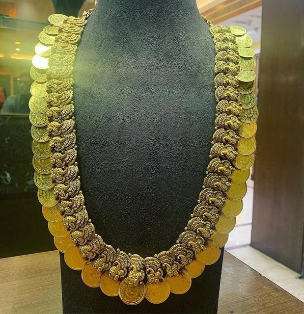Kasu and Mango Mala in Antique work