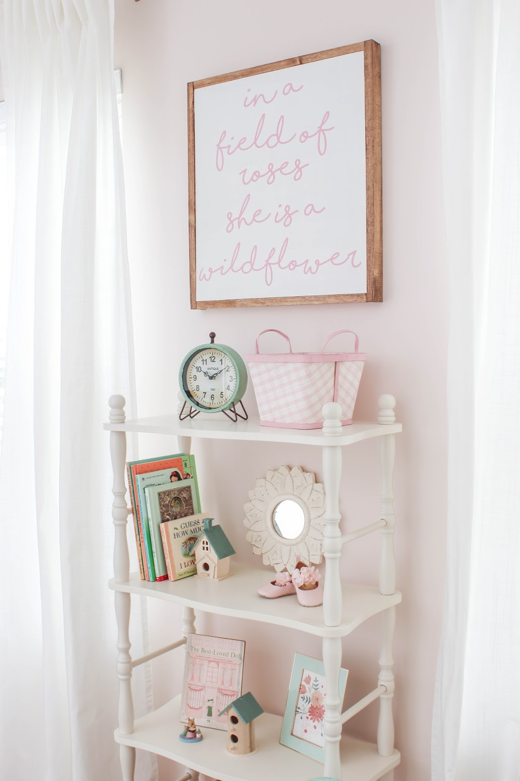 spindle bookcase kids room