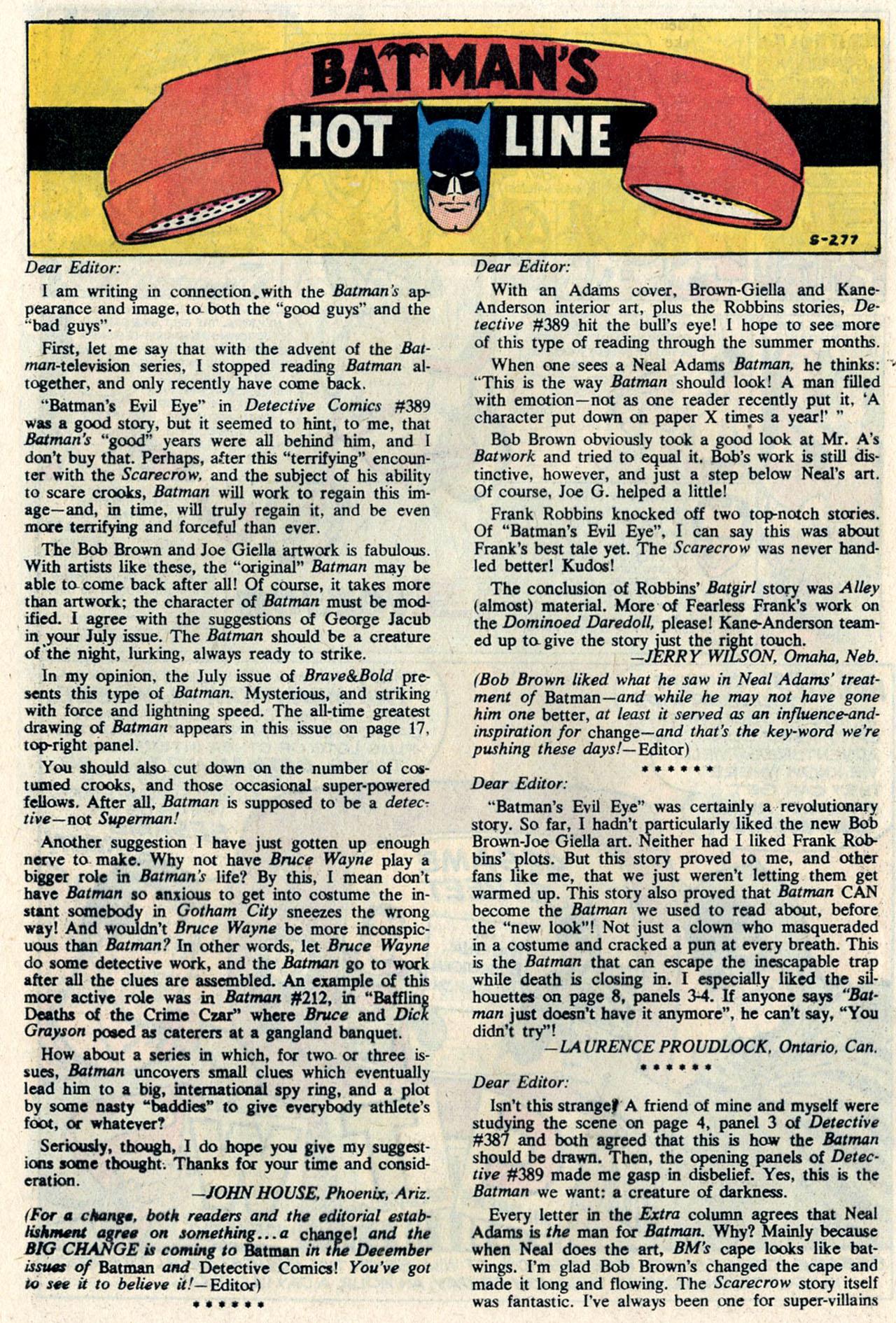 Detective Comics (1937) 393 Page 31
