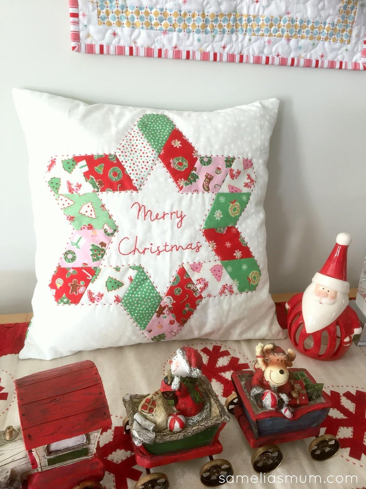 A Star For Christmas.A Star For Christmas Cushion Samelia S Mum