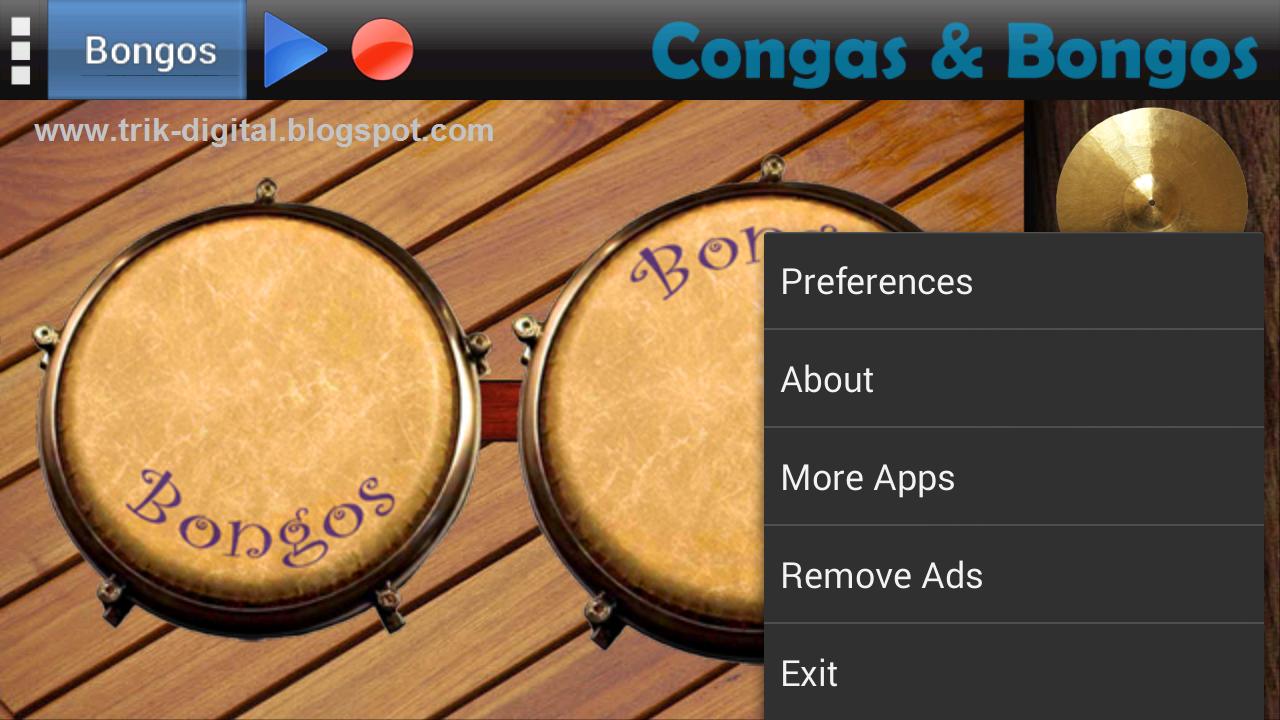 aplikasi gendang ketipung untuk android - Trik Digital Blog