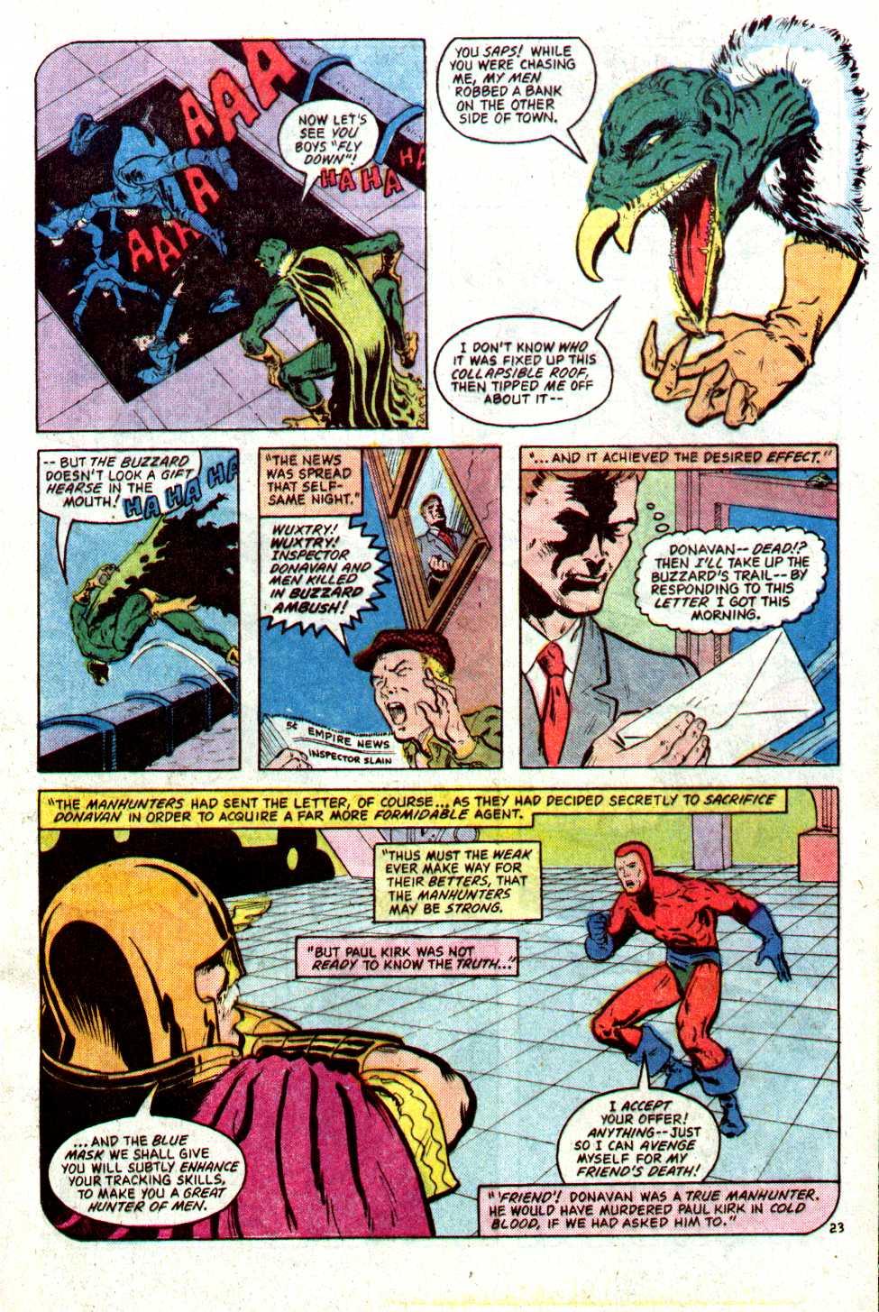 Read online Secret Origins (1986) comic -  Issue #22 - 24