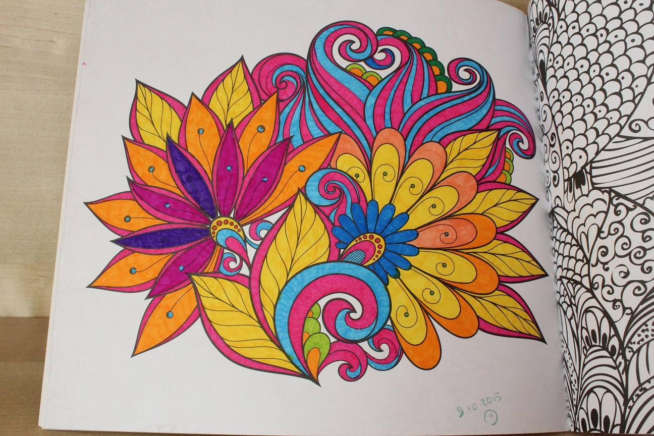 Esintiler Ve Anlar Renkler Sokağıbüyükler Için Boyama Kitabı3