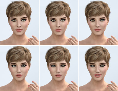 Graceful Poses for Genesis 3 Female