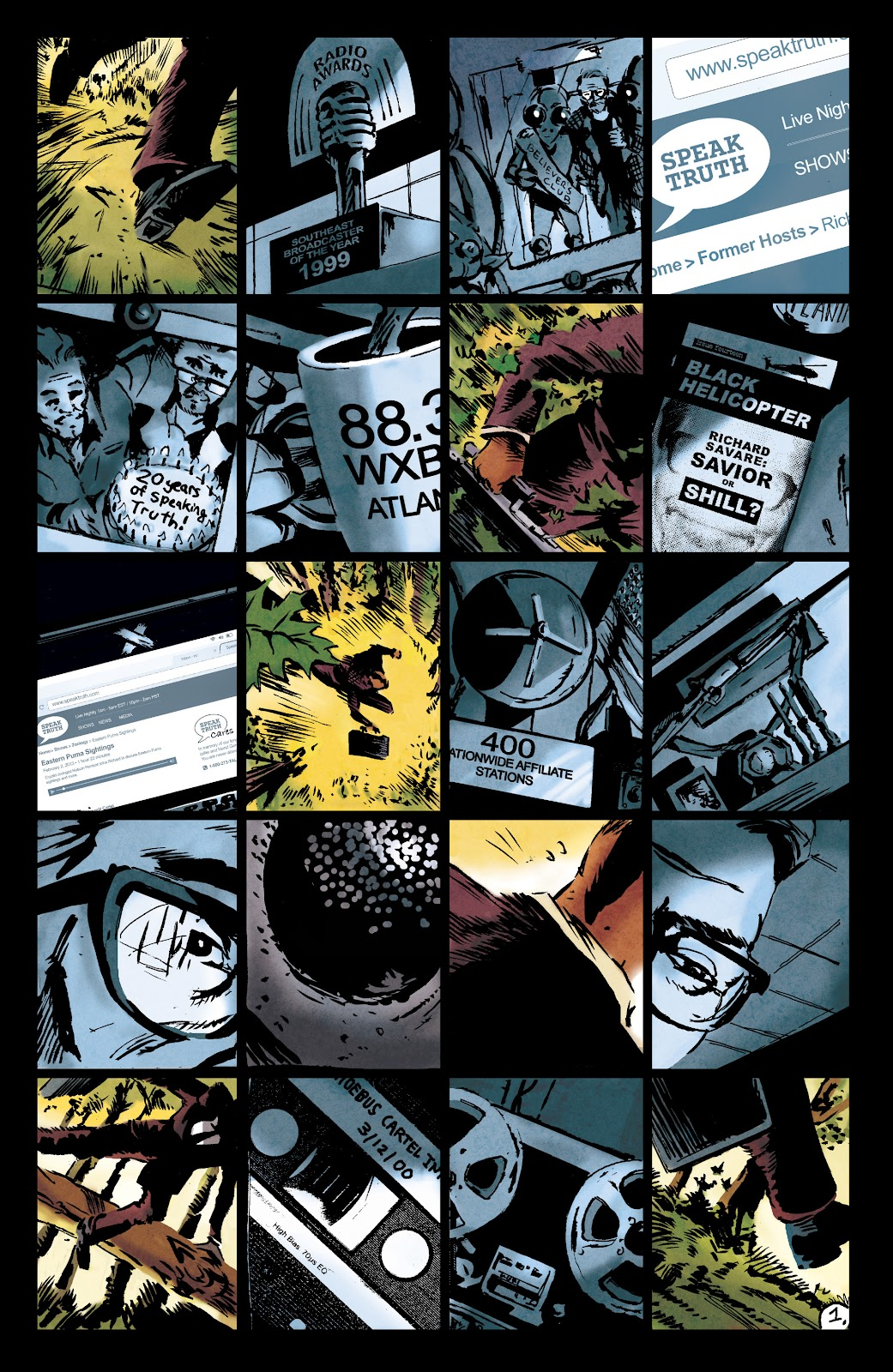 Read online Nobody Is In Control comic -  Issue #1 - 5