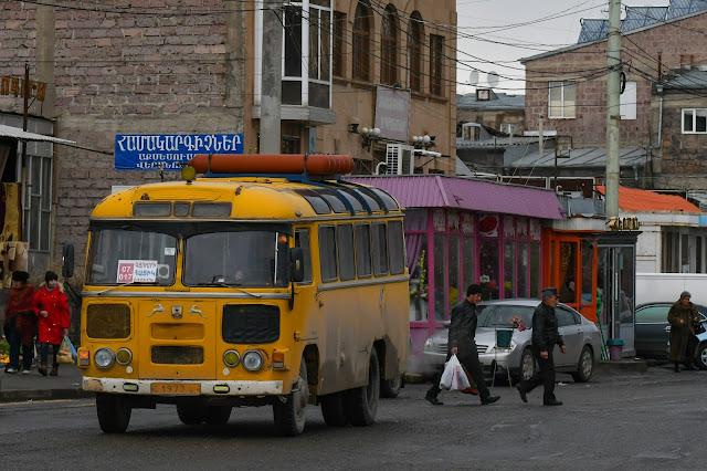 アルメニア バス ソ連 ПАЗ-672 Армения