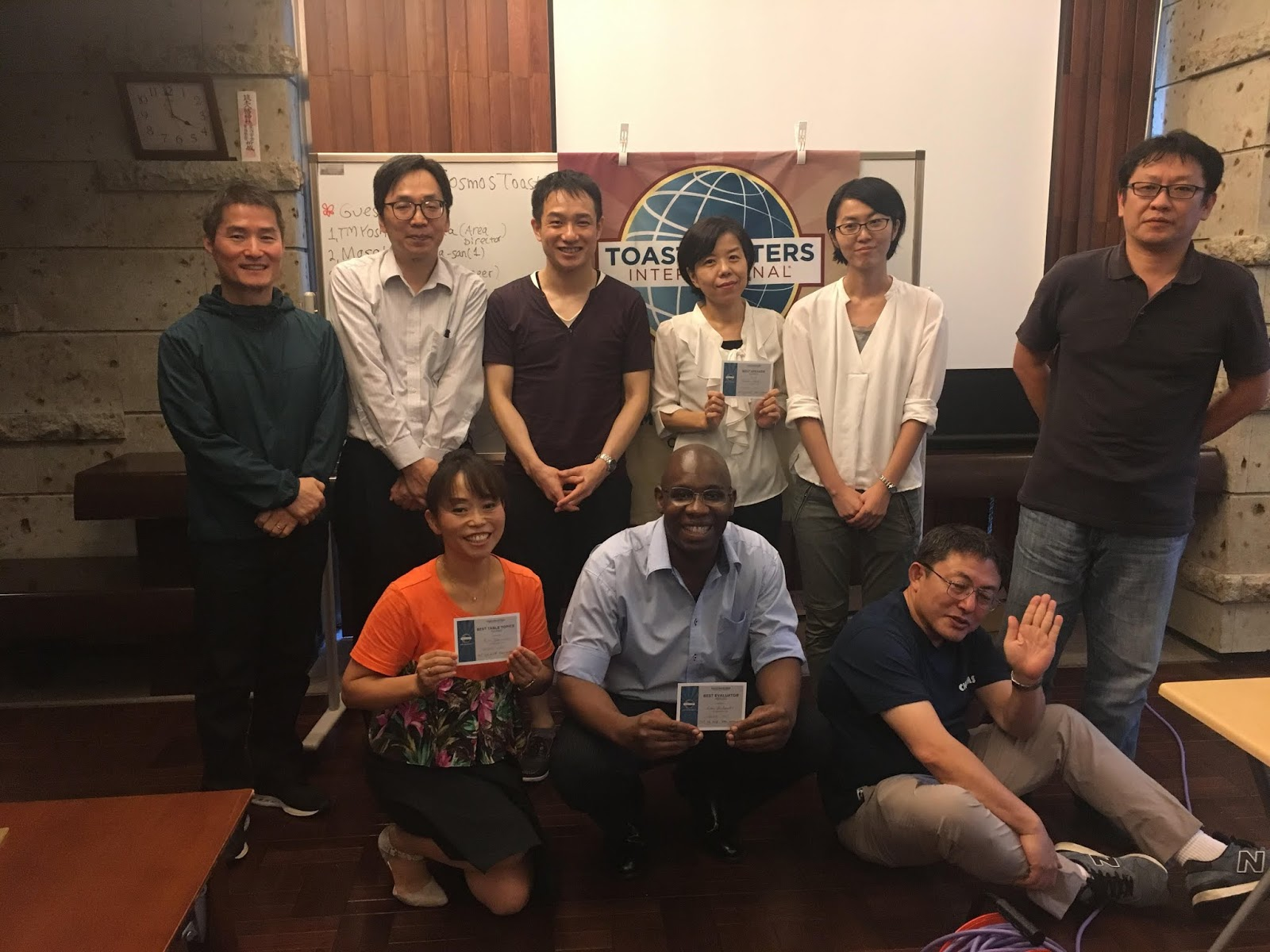 Meeting Report on 10/6 | Cosmos Toastmasters Club - コスモス