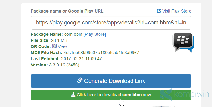 download apk dari google play