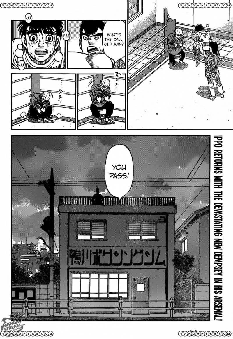 Hajime no Ippo - Chapter 1161