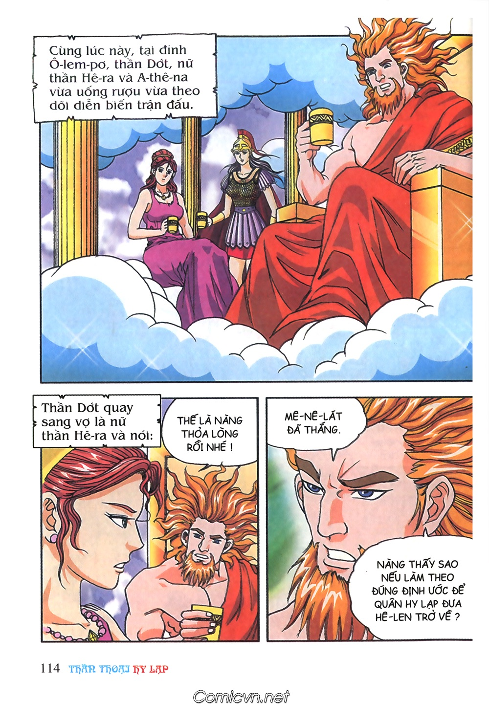 Thần Thoại Hy Lạp Màu - Chapter 59: Phá vỡ định ước - Pic 5