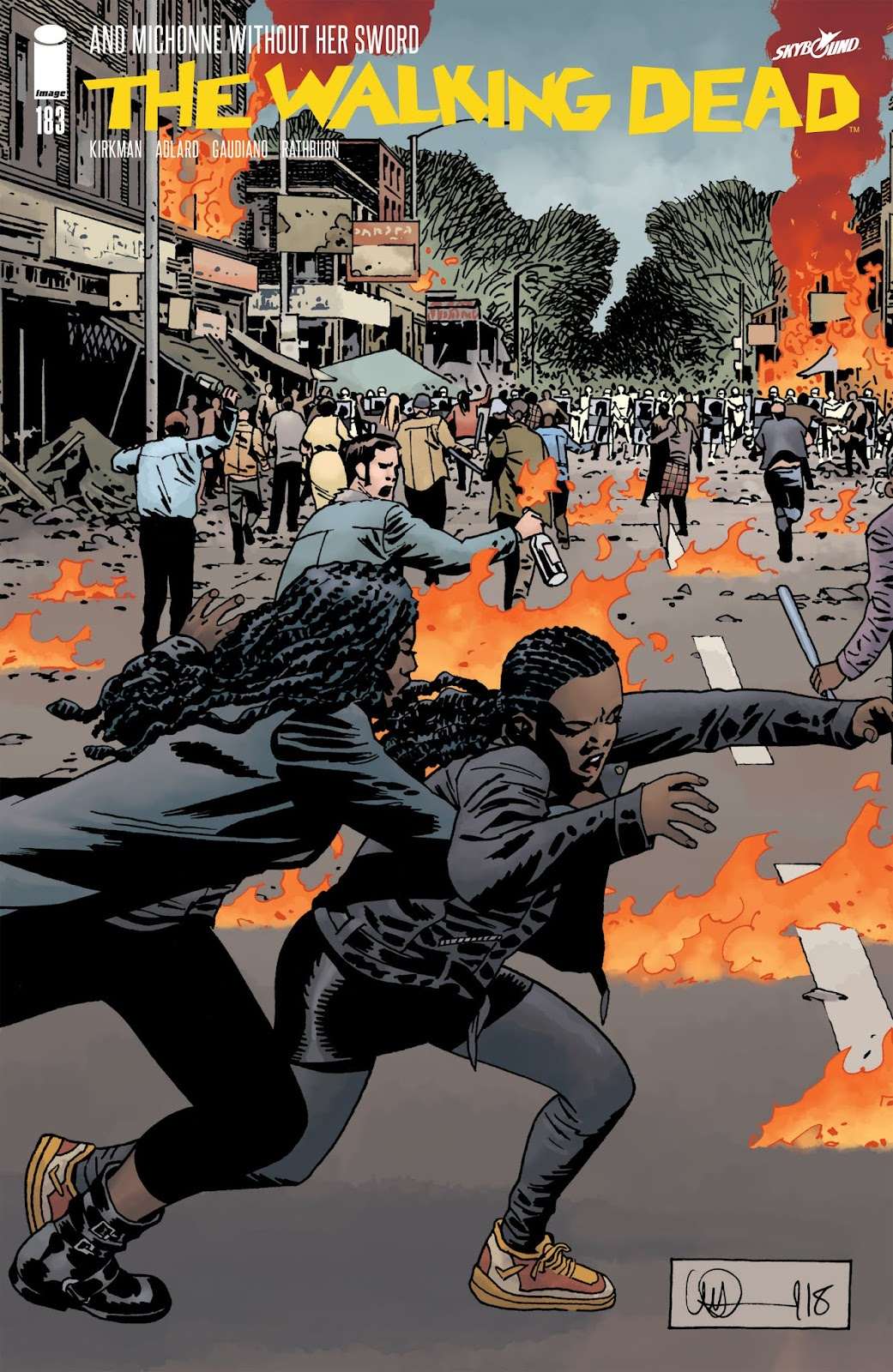 The Walking Dead Issue #183 Page 1