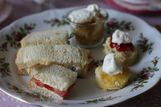 Tea Party Sandwiches... Living From Glory To Glory Blog