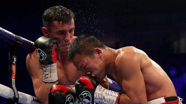 Anthony Crolla def. Daud Yordan By A 12 round Unanimous decision to Become WBA lightweight Mandatory.