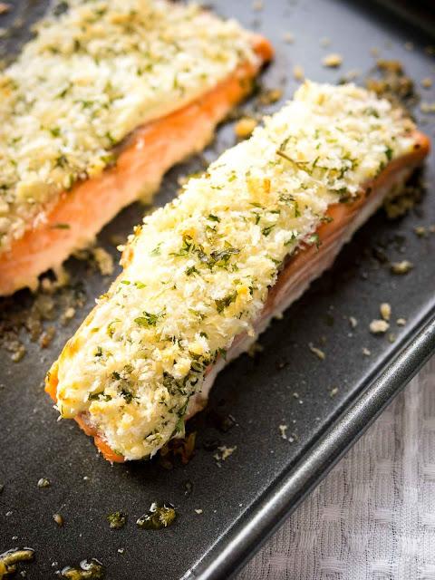 horseradish-parmesan-crusted-salmon