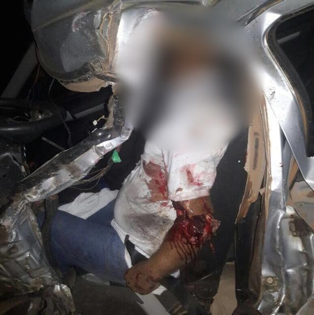Evangélicos morrem em grave acidente na BR 319