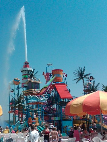 Inpark Magazine Michigan S Adventure Park Erupting With Watery Fun