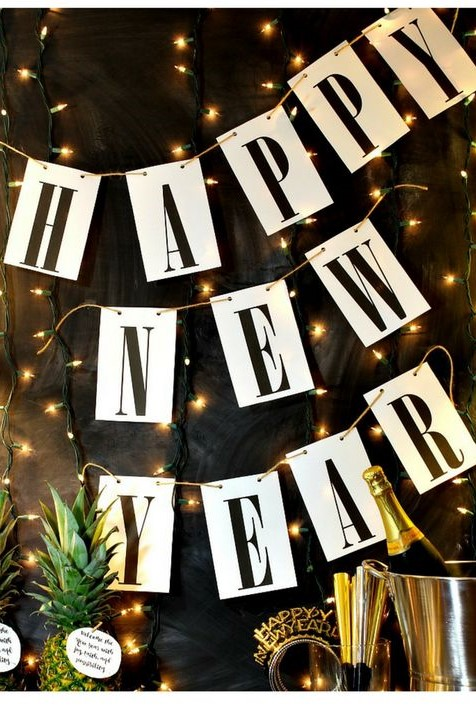 happy new year 2018 decoration images
