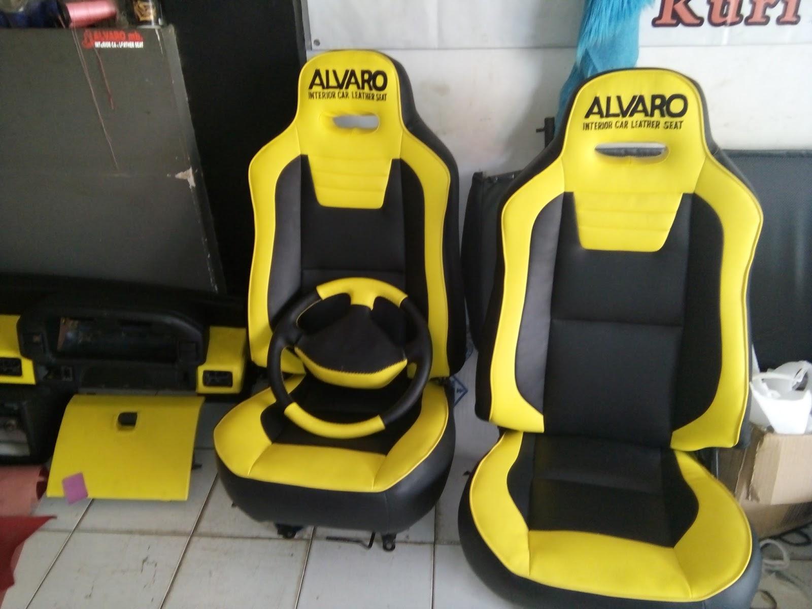 ALVARO JOK MOBIL INTERIOR CAR LEATHER SEAT VARIASI JOK DAN