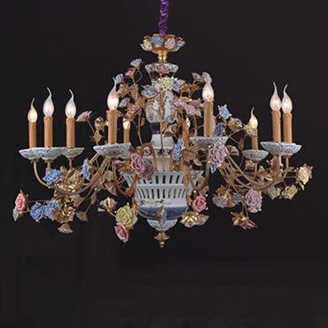 Tham khảo những mẫu đèn chùm trang trí phòng khách độc đáo, ấn tượng