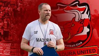 Pelatih Madura United Dejan Antonic