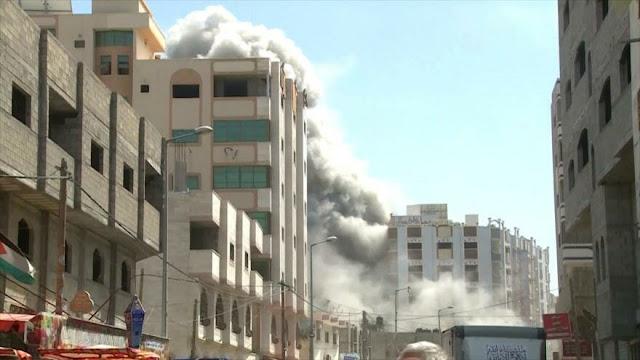 Continúan los ataques israelíes contra la Franja de Gaza