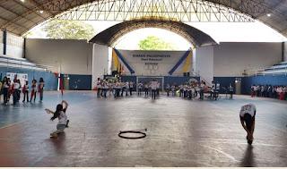 Abertura da mini olimpíada de Miracatu 2018