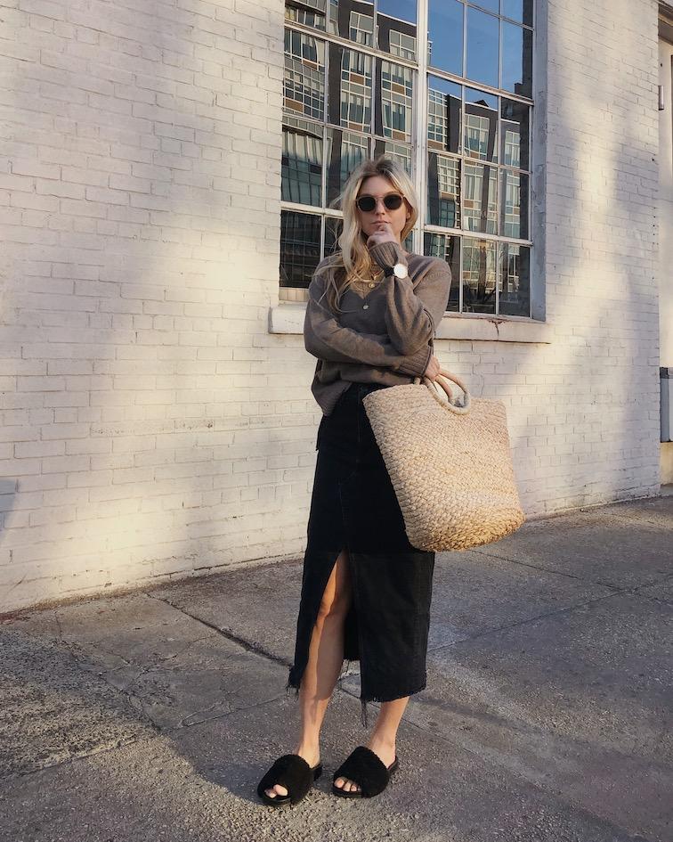 jenni kayne boyfriend sweater, jenni kayne woven straw bag, jenni kayne discount code, jenni kayne promo code