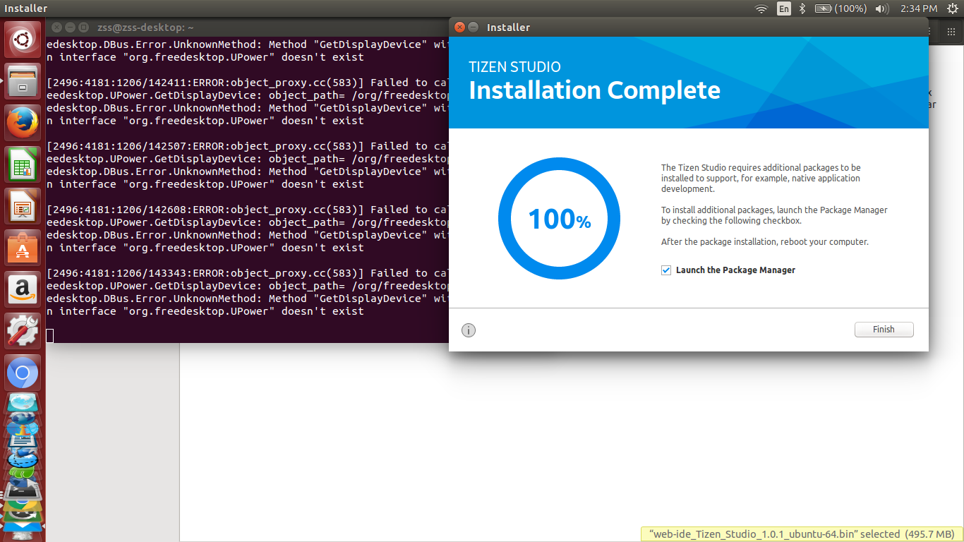 How to install Tizen Studio on Ubuntu 14 04 – ZealGeek