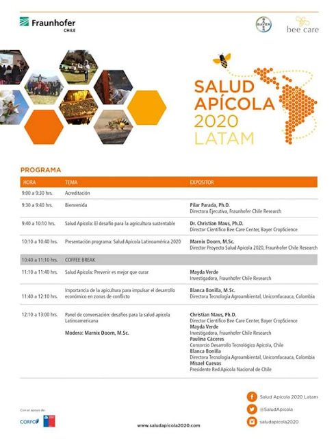 CHILE: SALUD APÍCOLA 2020 LATAM