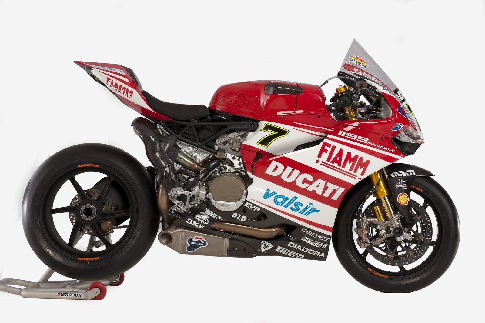 Racing Caf U00e8  Ducati 1199 Panigale Ducati Superbike Team 2014