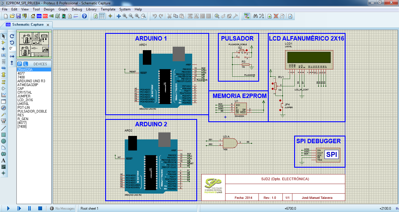 Talavera Electronics: SPI Exercise with Arduino UNO