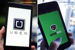 fenomena uber grabtaxi