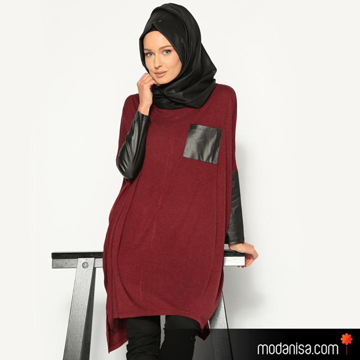 hijab style tunique hijab moderne et tendance automne. Black Bedroom Furniture Sets. Home Design Ideas