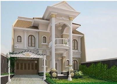 rumah unik mewah | model rumah modern