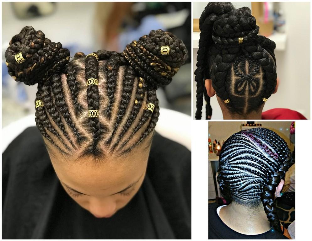 Latest Hair Styles Of Braids: Ladies Braided Hairstyles : 2018 Nice Braids Hairstyles