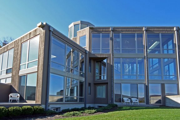 bedroom design blog: Contemporary Glass House Near West ... on Modern Glass House  id=93197
