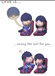 love is saving the last for you