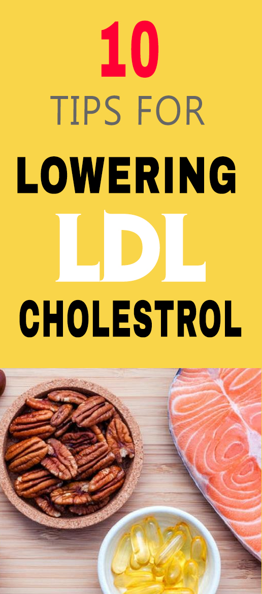 tips for lowering ldl choleterol