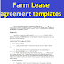 Farm Lease agreement templates form in word and pdf