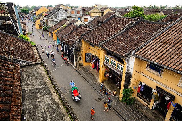 El casco histórico de Hoi An